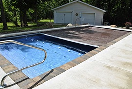 A Picture Of A Pool Using Supplies Bought In Greenfield, IN - Dave's Pools